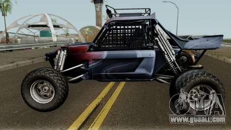 Predator X-18 Intimidator for GTA San Andreas left view