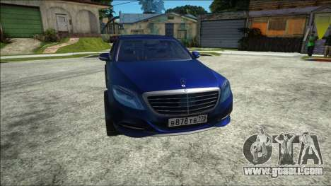 Mercedes-Benz S500 W222 for GTA San Andreas
