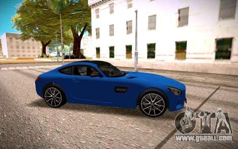 Mercedes-Benz GTS for GTA San Andreas left view