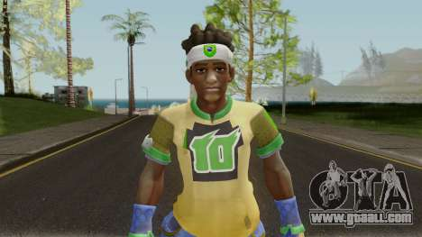 Lucio From Overwatch for GTA San Andreas