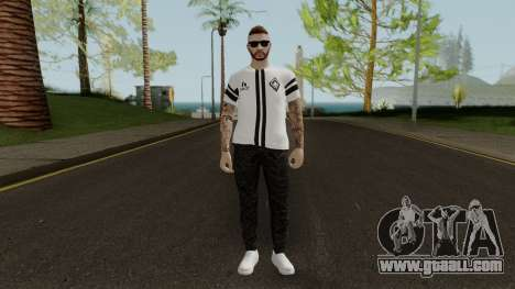 After Hours DLC Skin Male With Normal Map for GTA San Andreas