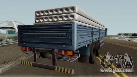 Semitrailer MAZ 933001 for GTA San Andreas