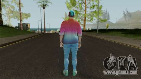 GTA Online Skin Female: After Hours DLC for GTA San Andreas