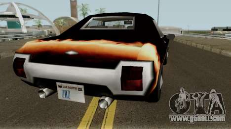 New Majestic for GTA San Andreas