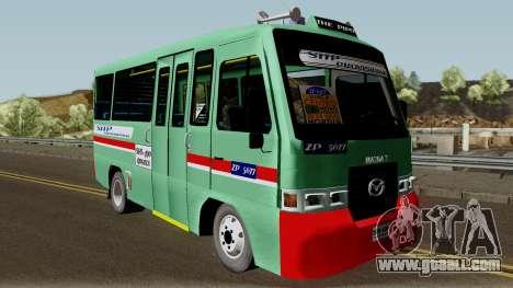 Buseta Mazda T for GTA San Andreas inner view