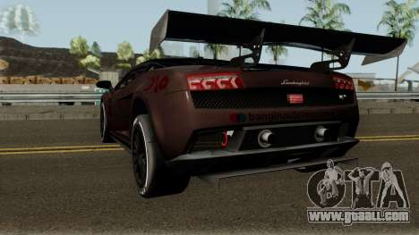 Lamborghini Gallardo LP 560-4 GT3 2012 for GTA San Andreas