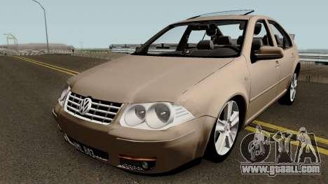 Volkswagen Bora 2014 for GTA San Andreas