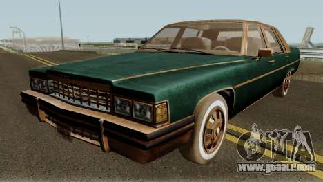 Cadillac Fleetwood Beaten 1985 v1 for GTA San Andreas