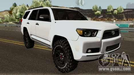 Toyota 4Runner TRD for GTA San Andreas