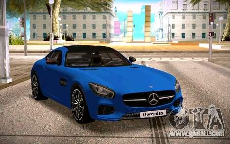 Mercedes-Benz GTS for GTA San Andreas