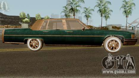 Cadillac Fleetwood Beaten 1985 v1 for GTA San Andreas back view