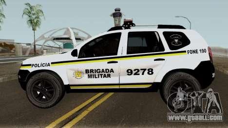 Renault Duster Brasilian Police for GTA San Andreas