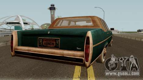 Cadillac Fleetwood Beaten 1985 v1 for GTA San Andreas right view