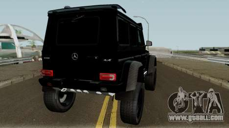 Mercedes-Benz G550 4X4 for GTA San Andreas