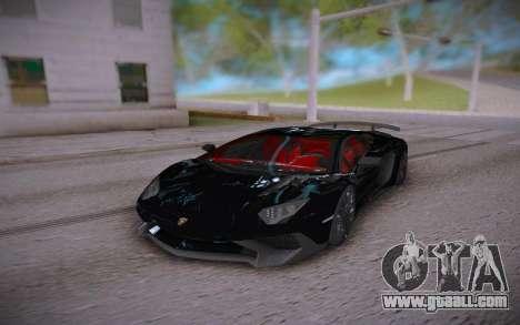 Lamborghini Aventador LP700-4 Roadster for GTA San Andreas