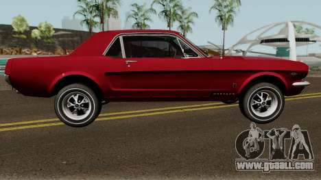 Ford Mustang GT289 Counting Cars v1.0 1965 for GTA San Andreas