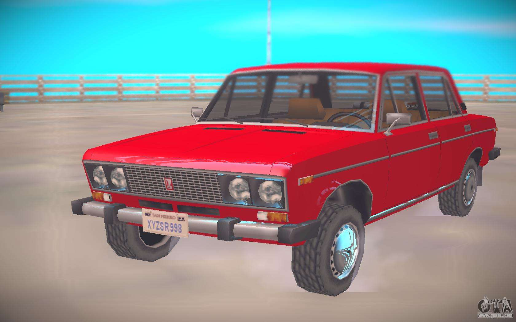 VAZ-2106 Low Poly for GTA San Andreas