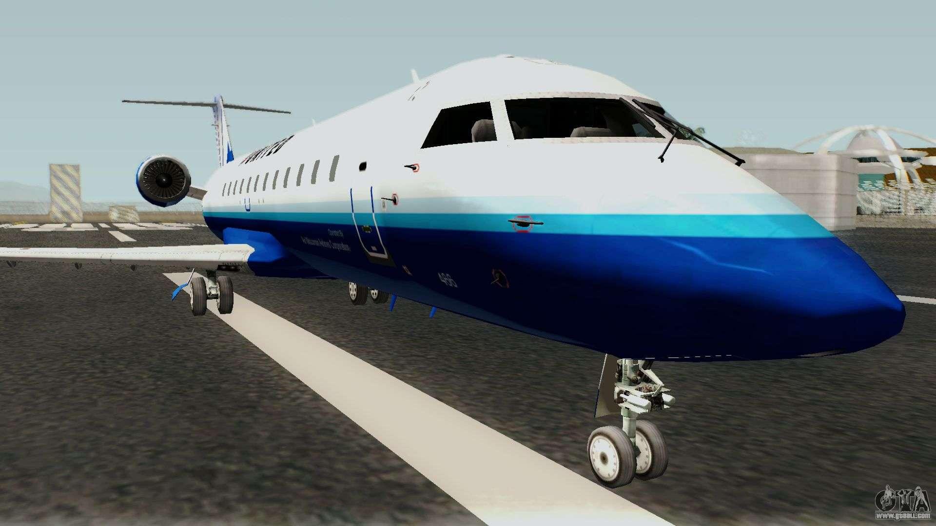 Bombardier CRJ200 for GTA San Andreas