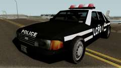 New Police LCPD Black