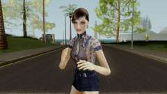 Jemma Country Denim Dress for GTA San Andreas
