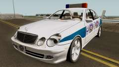 Mercedes Benz E500 Turkish Police Car San Fierro for GTA San Andreas