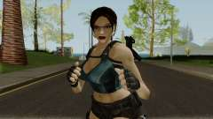Lara Well Armed (Big Stuff Version) for GTA San Andreas