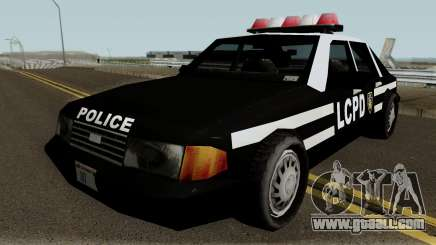 New Police LCPD Black for GTA San Andreas
