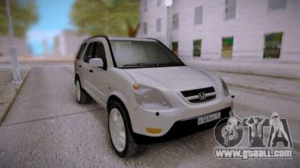 Honda CR-V White for GTA San Andreas