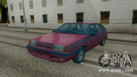 2109 Red Hatchback for GTA San Andreas