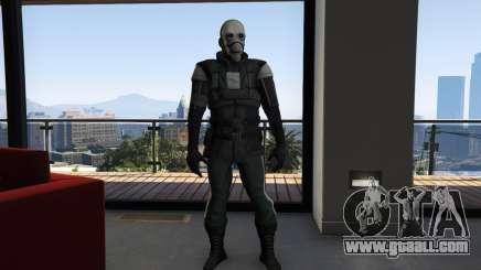 Half Life 2 Metro Cop for GTA 5