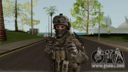 German Special Forces Skin for GTA San Andreas