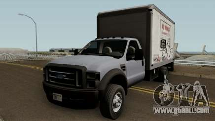 Ford F-550 Box Truck 2008 for GTA San Andreas