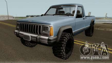 Jeep Comanche for GTA San Andreas