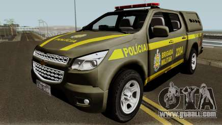 Chevrolet S-10 Patrulhas Especiais for GTA San Andreas