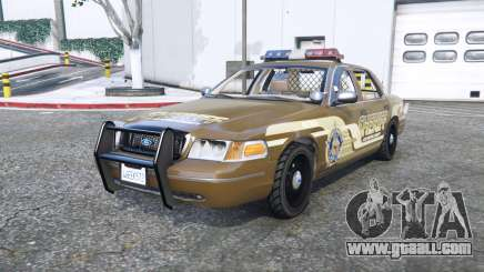 Ford Crown Victoria Sheriff pack [add-on] for GTA 5