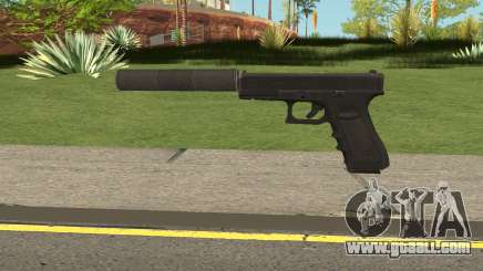 Glock 17 Silenced Escape From Tarkov for GTA San Andreas