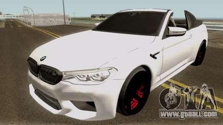 BMW M5 F90 Cabrio for GTA San Andreas