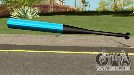 Baseball Bat Blue for GTA San Andreas