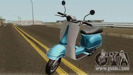 Pegassi Faggio Mod GTA V for GTA San Andreas
