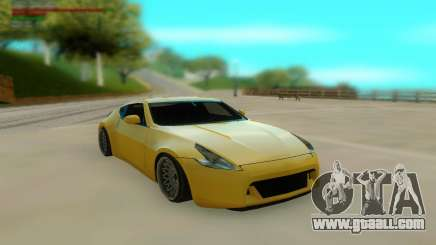 Nissan 370z Z34 12 Low for GTA San Andreas