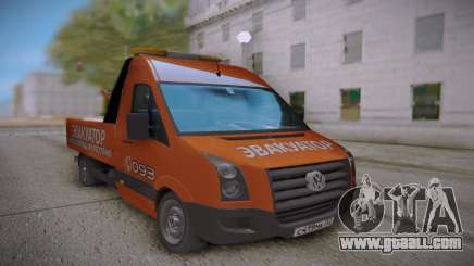 Volkswagen Crafter Towtrack for GTA San Andreas