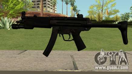 MP5 Black for GTA San Andreas