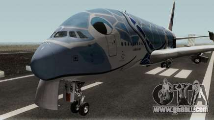 All Nippon Airways (Flying Honu) Airbus A380 for GTA San Andreas