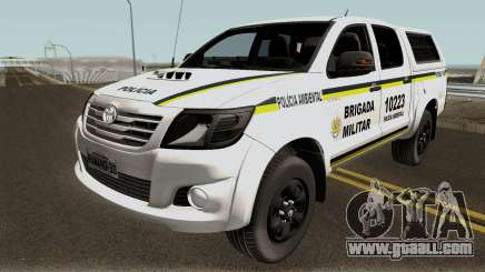 Toyota Hilux do Comando Ambiental for GTA San Andreas