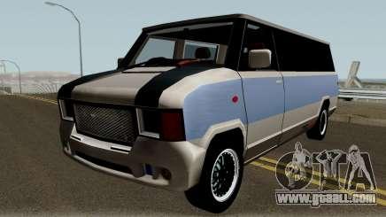 Modificated News Van for GTA San Andreas