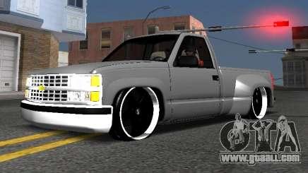 Chevrolet Silverado Low Rider for GTA San Andreas
