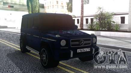 Mercedes-Benz G65 AMG Offroad for GTA San Andreas
