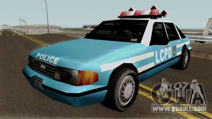New Police LCPD Blue for GTA San Andreas
