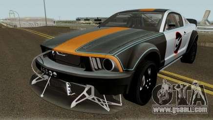 Ford Mustang Hot Wheels 2005 for GTA San Andreas