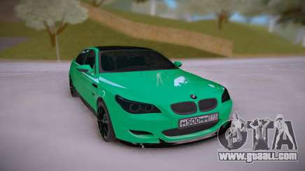 BMW M5 E60 DR for GTA San Andreas